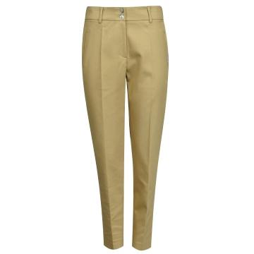 Beżowe klasyczne spodnie...