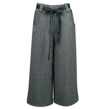 Grafitowe spodnie damskie...