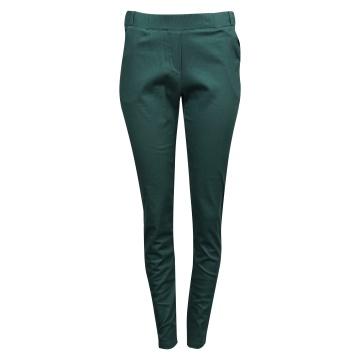 Zielone spodnie damskie z...