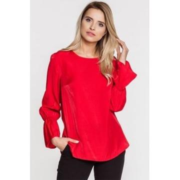 Czerwona bluzka damska 45217