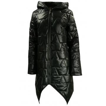 Czarna kurtka damska zimowa...