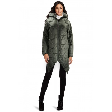 Szara kurtka damska zimowa...