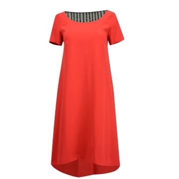 Czerwona sukienka model Nesa