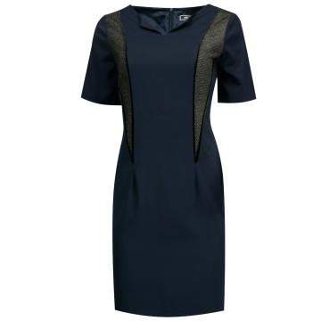 Granatowa sukienka MUSO...
