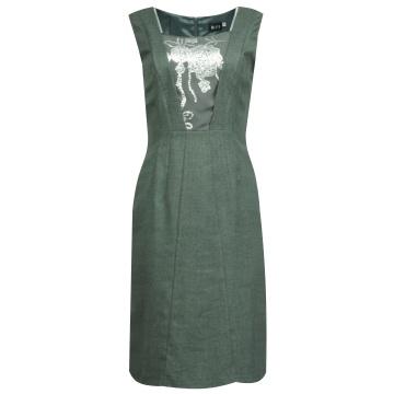 Szara sukienka z wełny...