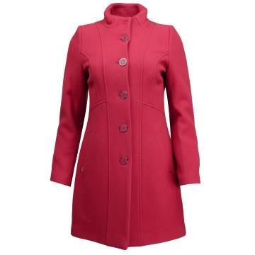 Czerwony płaszcz damski...