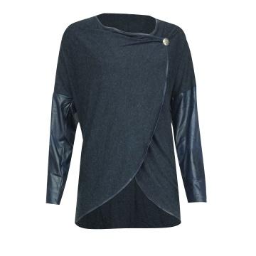 Granatowy sweter damski 74404