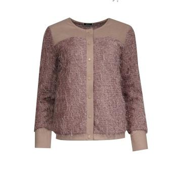 Różowa bluzka damska oversize