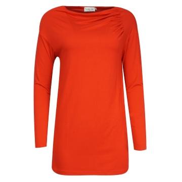 Czerwona bluzka damska o...