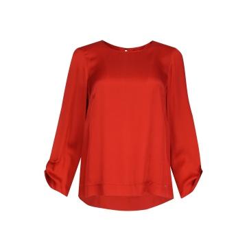 Czerwona bluzka damska...