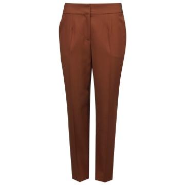 Brązowe spodnie damskie...