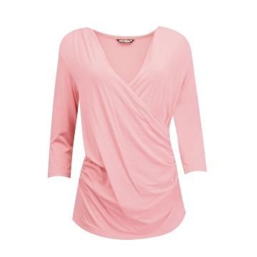 Różowa bluzka damska...