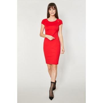 Czerwona sukienka Nusco...