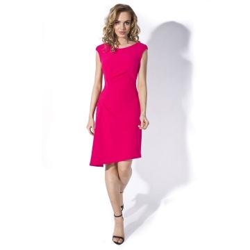 Różowa sukienka model...