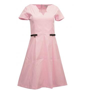Sukienka pudrowy róż firma...