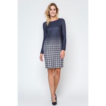 Granatowa sukienka model:...