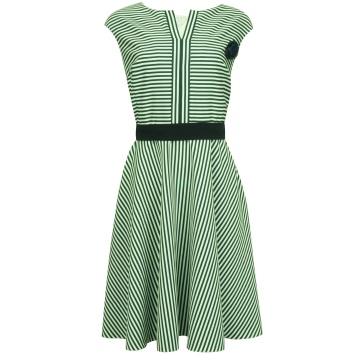 Granatowa sukienka w...