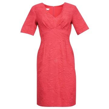 Różowa sukienka odcinana...