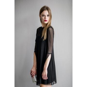 Czarna ołówkowa sukienka z...