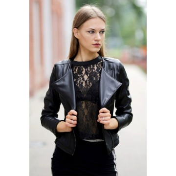 Czarny żakiet damski model...