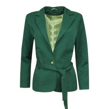Zielony klasyczny żakiet...