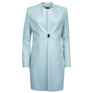 Błękitny wiosenny płaszcz...