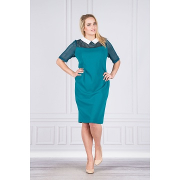 Zielona sukienka z...