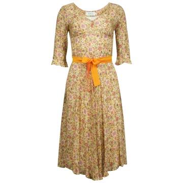 Sukienka z jedwabiem w...