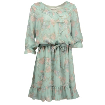 Sukienka Kammelia błękitna