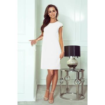 Biała ołówkowa sukienka...