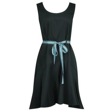Czarna luźna sukienka z...