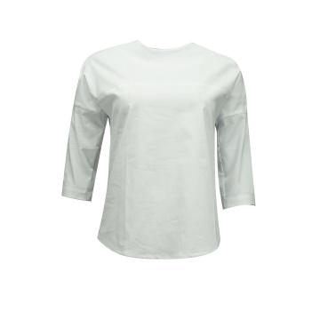 Biała bluzka z kimonowym...