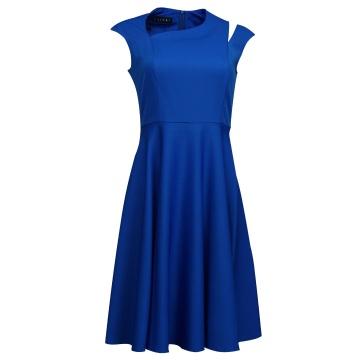 Chabrowa sukienka o...