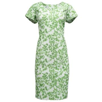 Zielona ołówkowa sukienka