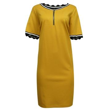 Miodowa sportowa  sukienka...