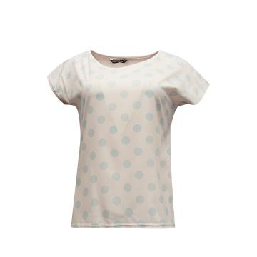 Różowa bluzka damska w...