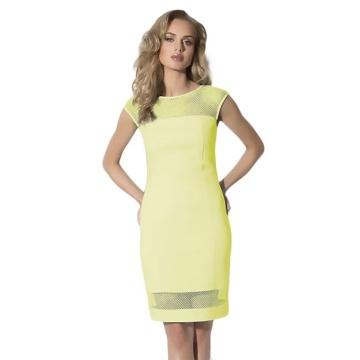 Cytrynowa sukienka model...