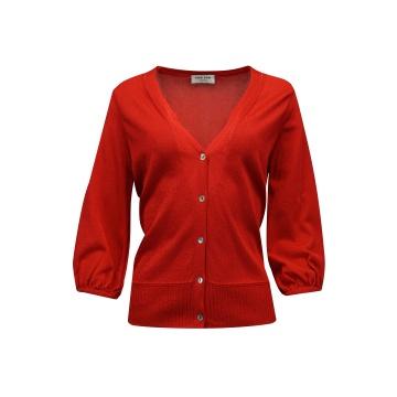 Czerwony sweter damski...