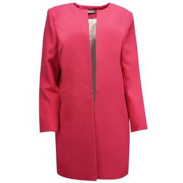 Różowy wiosenny płaszcz...