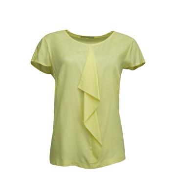 Żółta bluzka damska z...