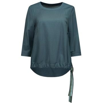 Niebieska bluzka damska z...
