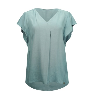 Niebieska luźna bluzka...