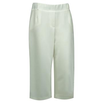 Białe spodnie damskie  7/8...