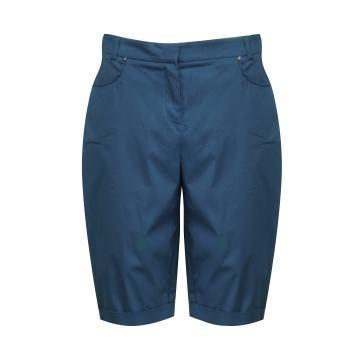 Granatowe krótkie spodnie...