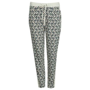 Spodnie damskie we wzory 33702
