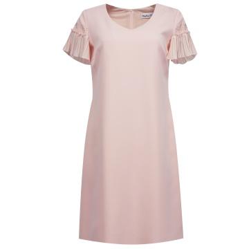 Różowa sukienka z...