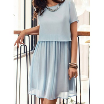 Sukienka model Anne błękitna