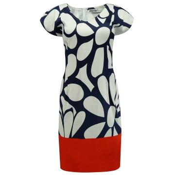 Bawełniana sukienka w...