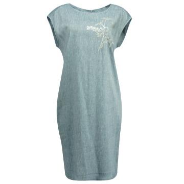 Niebieska sportowa sukienka...