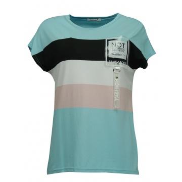 Kolorowa bluzka damska z...